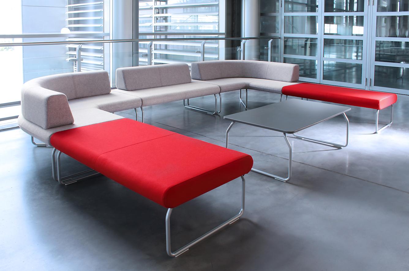 Modułowe siedziska recepcyjne
