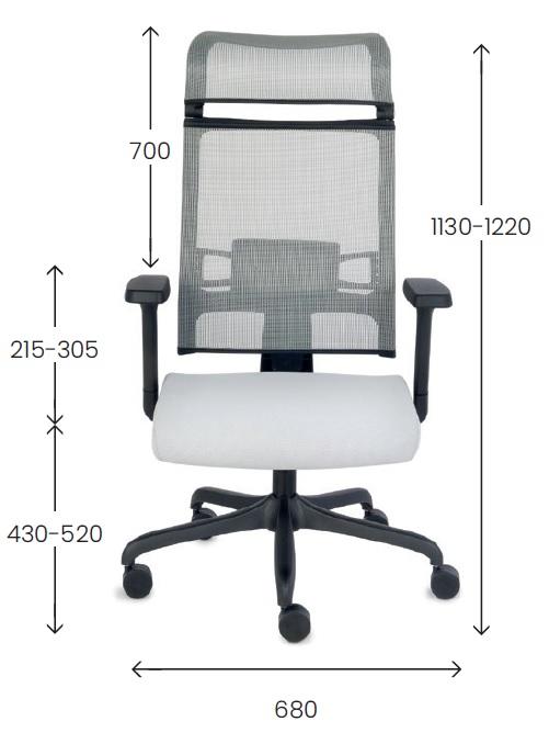 Fotel obrotowy, krzesło obrotowe,fotel obrotowy z siatki
