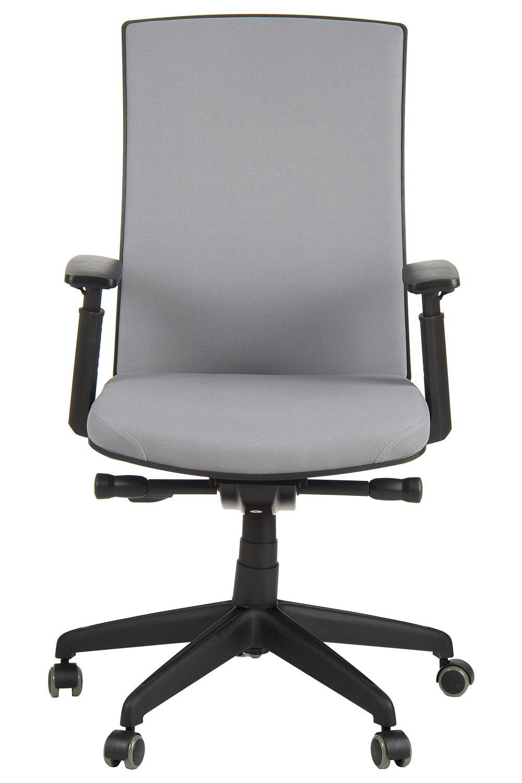Fotel Biurowy Obrotowy EF KB8922BS szary nylonowa podstawa
