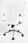 Fotel obrotowy UNIVERSE biały - wysoki