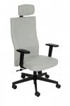 Fotel Biurowy obrotowy TEAM PLUS HD BLACK - różne tapicerki
