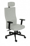 Fotel Biurowy obrotowy TEAM PLUS HD - różne tapicerki