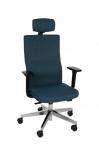 Fotel Biurowy obrotowy TEAM PLUS HD CHROME - różne tapicerki