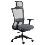 Fotel biurowy HOPE szary - atestowany