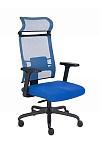 Fotel Biurowy obrotowy ERGOFIX TM03 niebieski