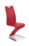 Krzesło konferencyjne K188 czerwone