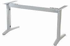 Stelaż metalowy do biurka EF-STL-01 aluminium - rozsuwana belka