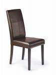 KERRY BIS  krzesło wenge/ciemny brąz (1p=2szt)