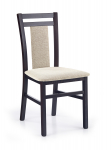 HUBERT8 krzesło wenge / tap: Vila 2 (1p=2szt)