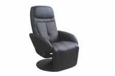 OPTIMA recliner czarny