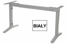 Stelaż metalowy do stołu EF-STT-01 biały - rozsuwana belka