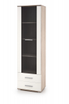 LIMA W-1 witryna biały / sonoma