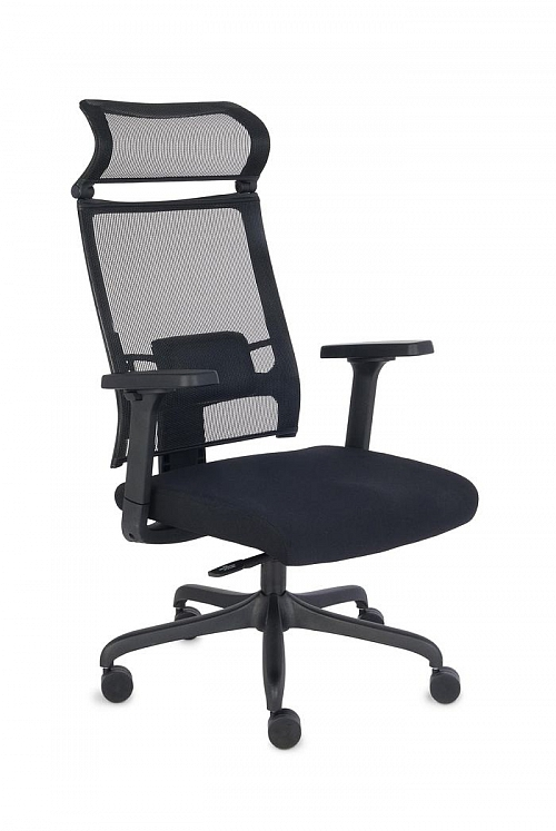 Fotel Biurowy obrotowy ERGOFIX TM01 czarny