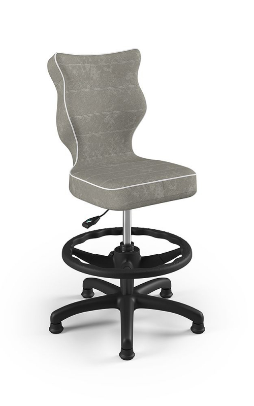 ENTELO Dobre krzesło obrotowe PETIT nr 4 WK + P podstawa czarna