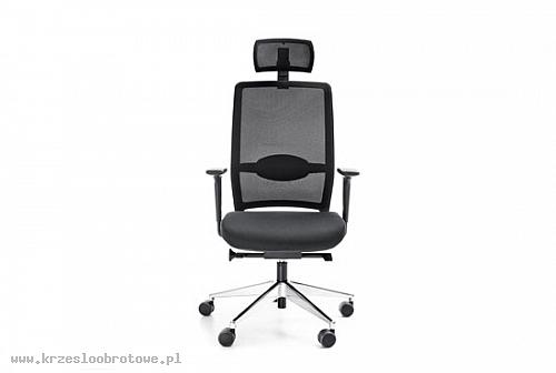 Fotel obrotowy VERIS NET 111 z zagłówkiem