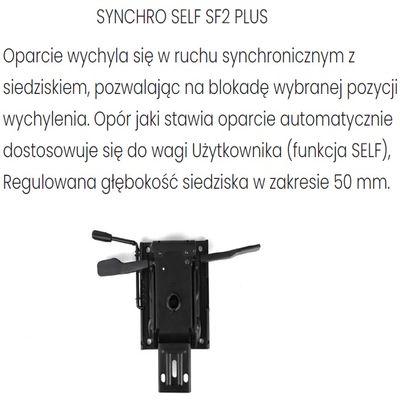 Fotel Biurowy Obrotowy COCO WS - Synchroniczny Self Plus SF2 Plus