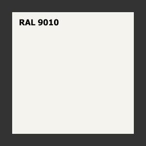 Krzesło konferencyjne MATE MT230 - na płozie - RAL 9010 biały
