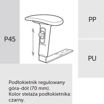 Fotel obrotowy RAYA 23 - P45 PP