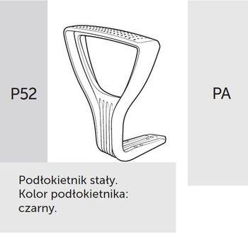 Fotel obrotowy RAYA 23 - P52 PA