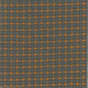 Fotel biurowy obrotowy DUAL black DU 102 - PA531 melanż szary/pomarańcz