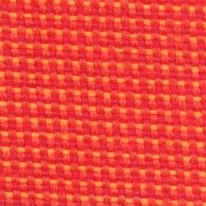 Fotel biurowy obrotowy DUAL black DU 102 - PA515 melanż czerwony/żółty