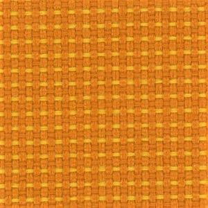 Fotel biurowy obrotowy DUAL black DU 102 - PA516 melanż pomarańcz/żółty