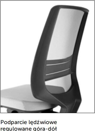 Fotel obrotowy lightUP 230 - regulacja góra - dół