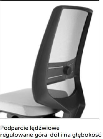 Fotel obrotowy lightUP 230 - regulacja góra - dół - głębokość