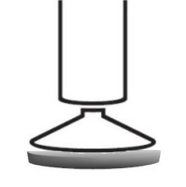 Fotel Biurowy obrotowy XENON NET101 - regulacja podparcia lędźwiowego - Stopki teflonowe
