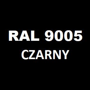Stelaż metalowy do biurka lub stołu  ST-A noga kwadrat 4x4 głębokość 77 cm, różne długości - RAL 9005 - czarny