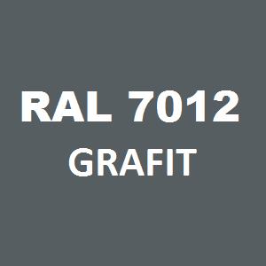 Stelaż metalowy do biurka lub stołu  ST-A noga kwadrat 4x4 głębokość 77 cm, różne długości - RAL 7012 - grafit