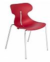 Krzesło konferencyjne MARIQUITA czerwony