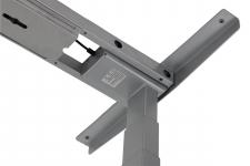 Stelaż elektryczny dwusilnikowy EF-UT04-2T/A-aluminium