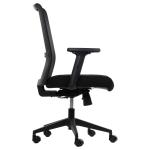 Fotel Biurowy obrotowy RIVERTON M/L czarny