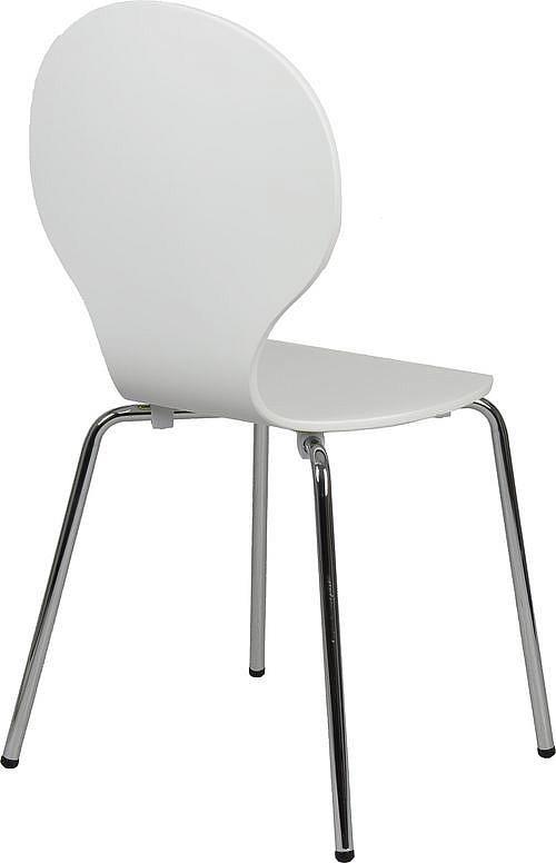 Krzesło konferencyjne EF-TDC122 Biały