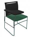 Krzesło biurowe konferencyjne ARIZ 575V z pulpitem