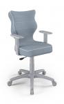 ENTELO Dobre Krzesło obrotowe Duo nr 5 - podstawa szara
