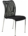Krzesło konferencyjne  EF-HN7502 czarne - chrom