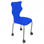 Krzesło ucznia Spider Move nr 4 - stelaż biały