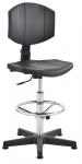 Krzesło laboratoryjne wysokie 02 - chrom