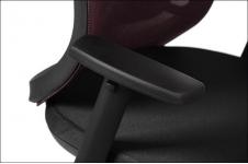 Fotel Biurowy obrotowy  EF-GN310  bordowy - z wysuwem siedziska