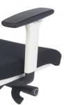 Fotel Biurowy obrotowy LEVEL WS white HD z zagłówkiem