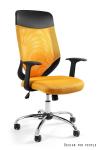Fotel biurowy MOBI PLUS - ŻÓŁTY