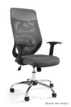 Fotel biurowy MOBI PLUS - SZARY