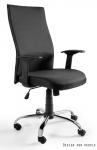 Fotel Biurowy obrotowy BLACK ON BLACK czarny