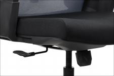 Fotel obrotowy OLTON H SZARY