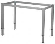 Stelaż regulowany do stołu i biurka EF-57KR/KA nogi kwadrat 5x5 - alu