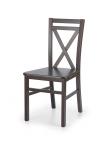 Krzesło konferencyjne DARIUSZ 2 - ciemny orzech