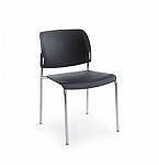 Krzesło biurowe konferencyjne BIT 550H plastikowe