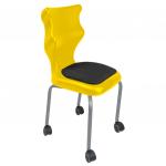 Krzesło ucznia Spider Move Soft nr 3 - stelaż biały